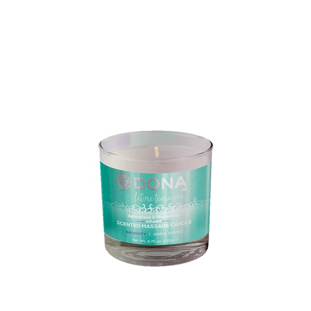 Dona scented massage candle...