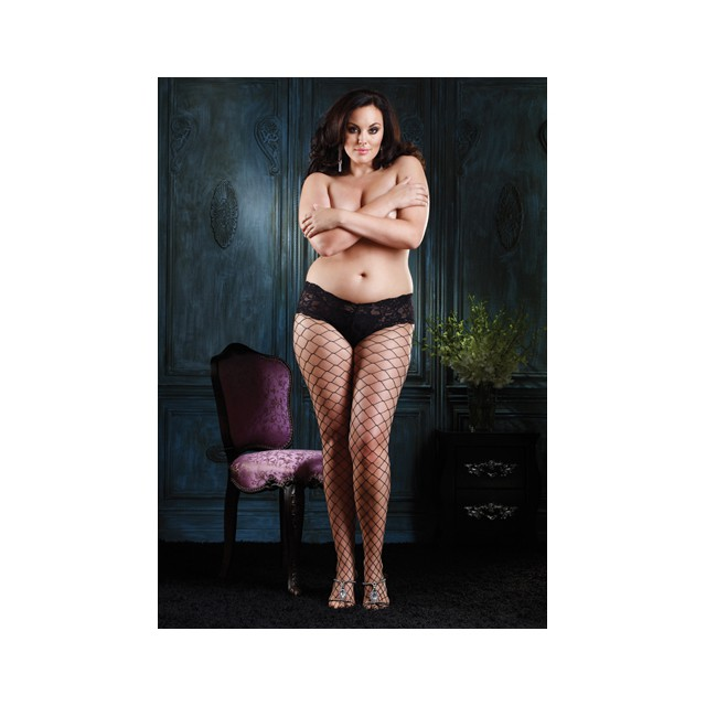Diamond Panty - Plus Size -...