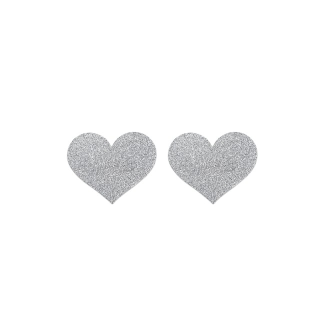 Flash Heart Tepelstickers -...