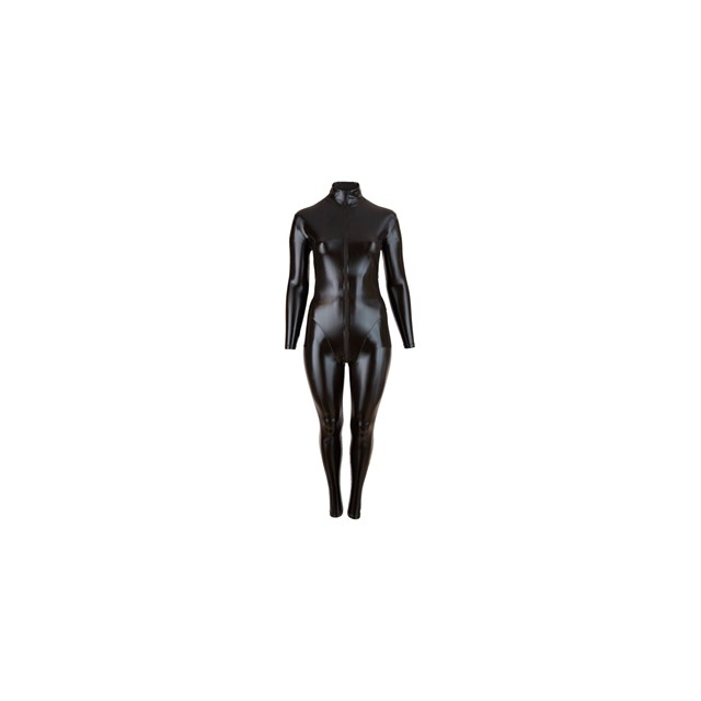 Plus Size Wetlook Catsuit...